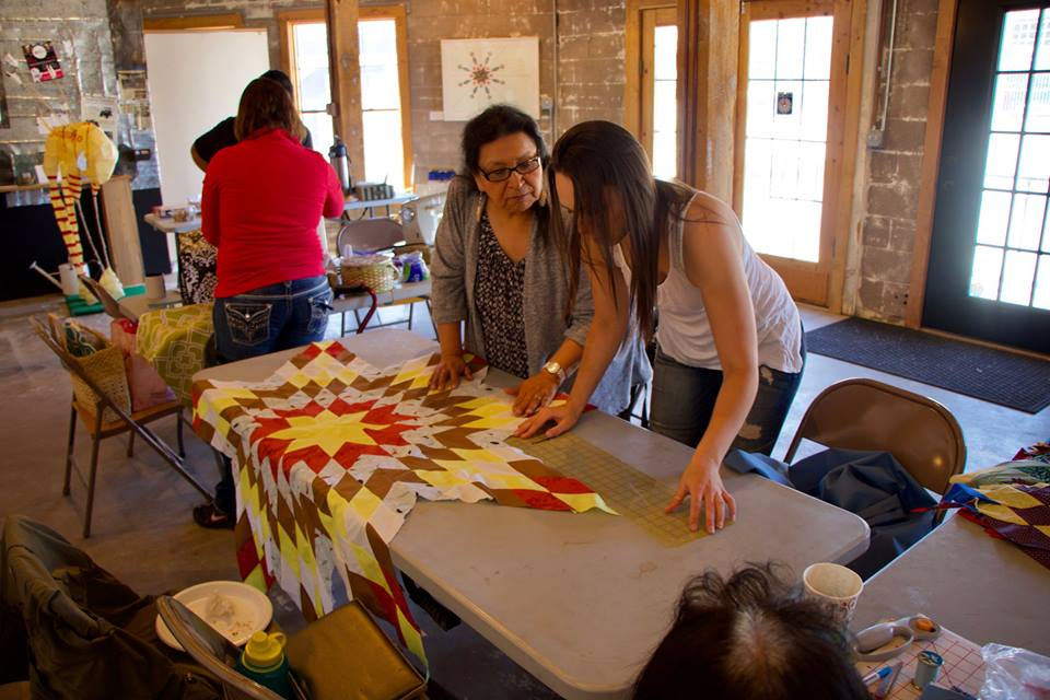 Native Sun News Today: Lakota Sewing Circle fosters a sense of community