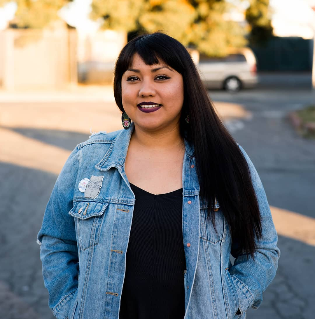 YES! Magazine: Indigenous activist Gloria Lucas leads body positive movement