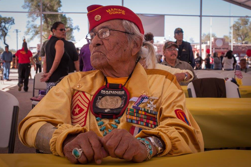Navajo Nation leaders offer condolences to family of Code Talker Teddy Draper