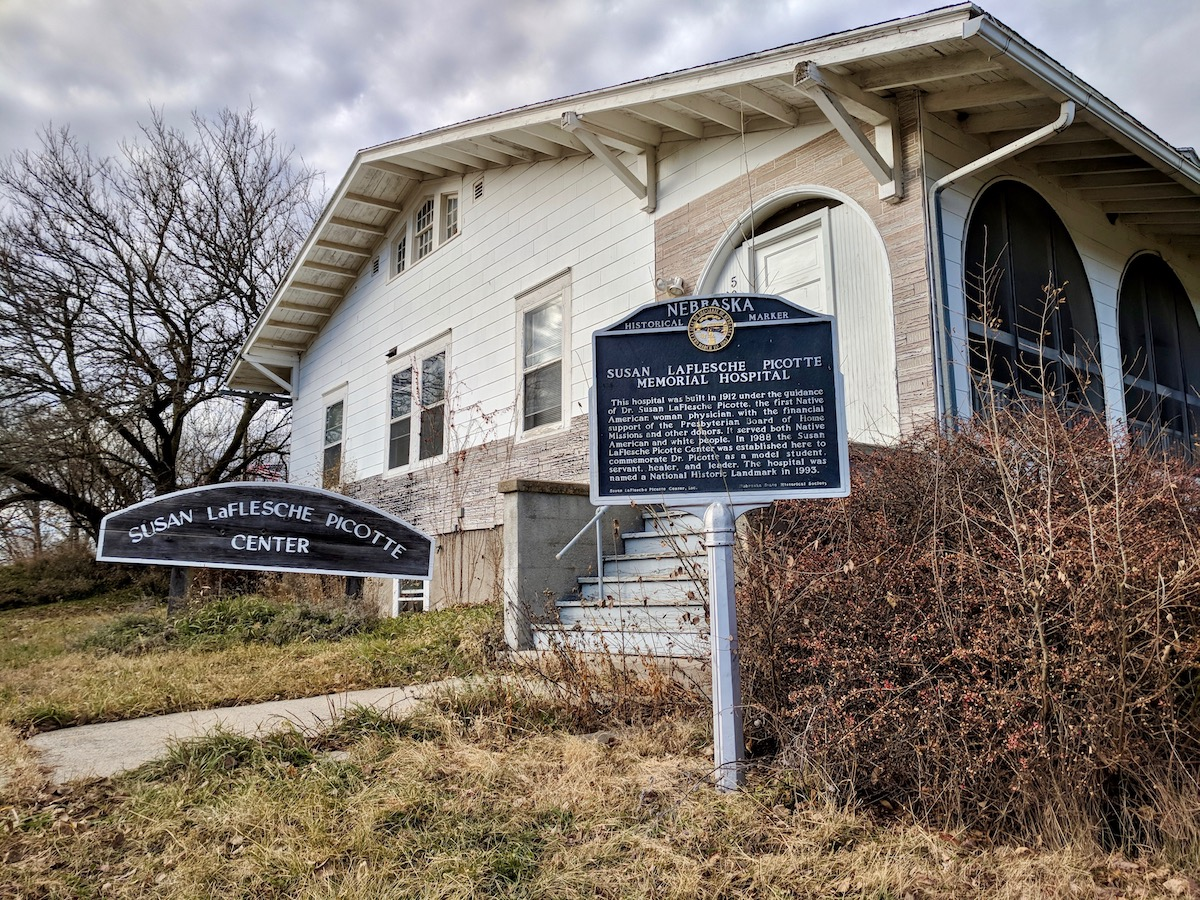 Omaha Tribe working to restore hospital built by first Native American doctor
