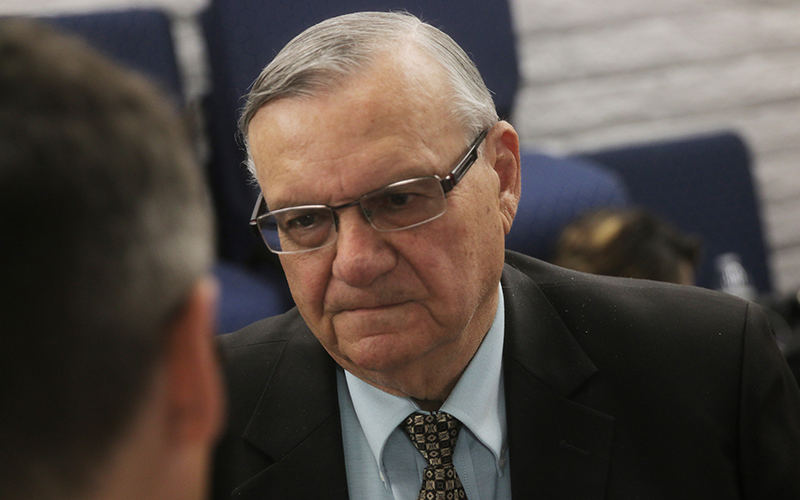Cronkite News: Convicted former sheriff announces Senate bid in Arizona
