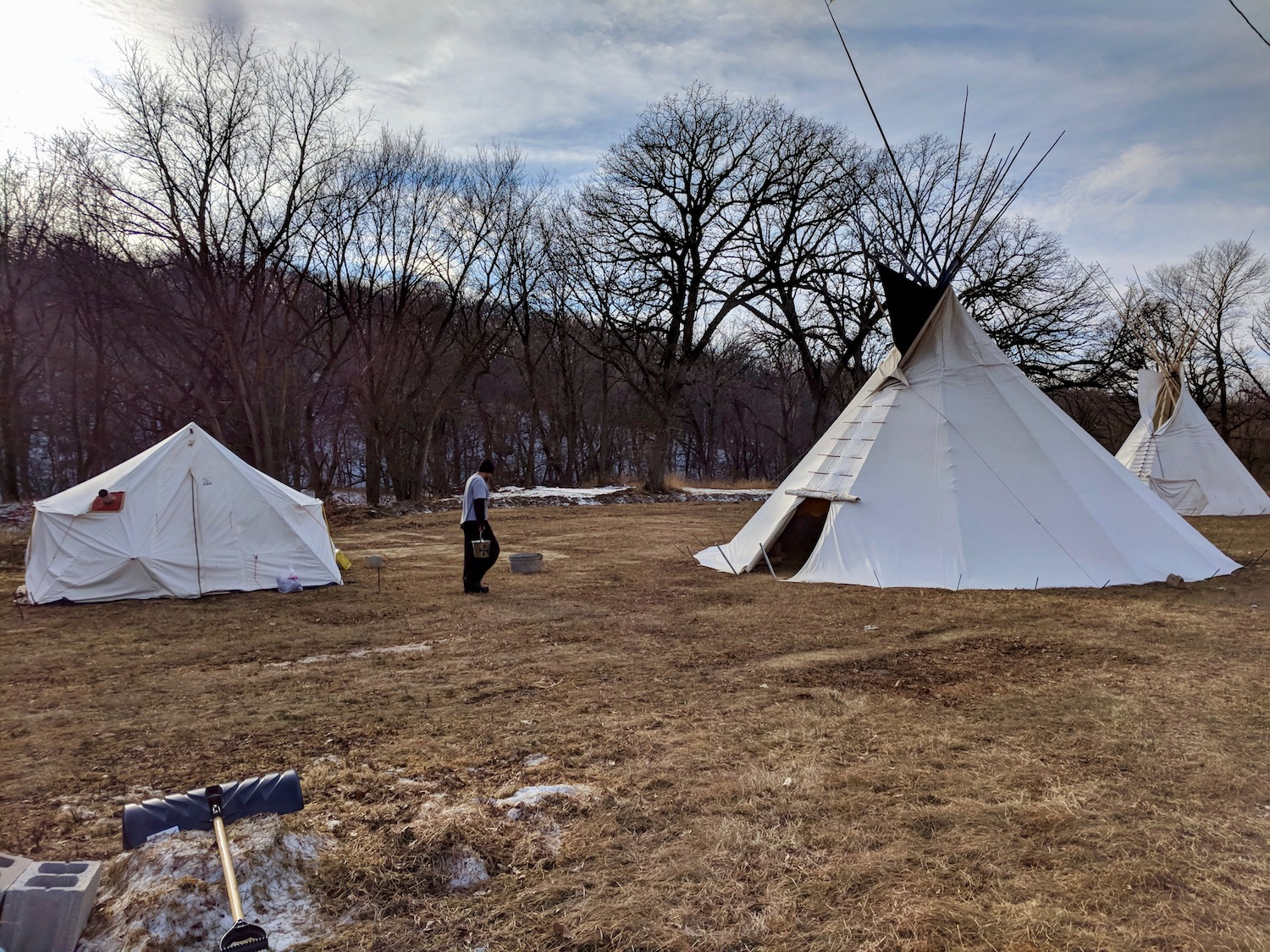 Winnebago Tribe sees change after veteran comes home and lights sacred fire