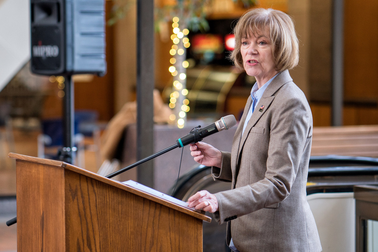 Sen. Tina Smith from Minnesota joins Senate Committee on Indian Affairs