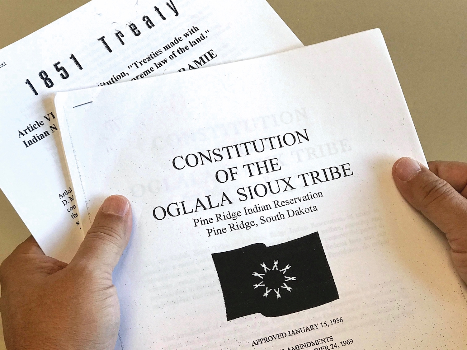 Jeffrey Whalen: Oglala Sioux Tribe heads in right direction with constitution