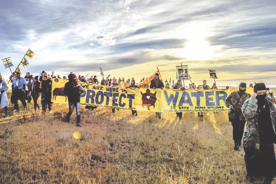 Native Sun News Today: 'Water Protectors' film heralds unsung Lakota heroes