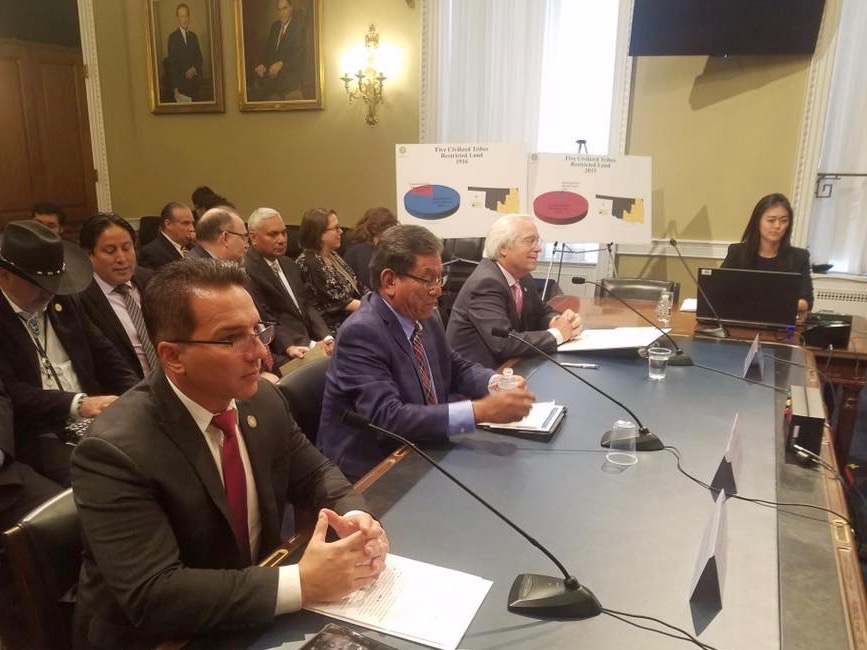 Bill to restore Eastern Cherokee homelands moves forward in Congress
