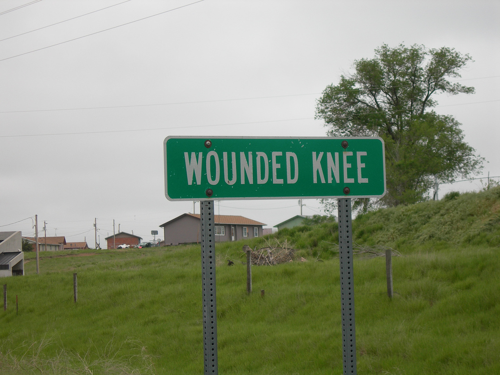 Tim Giago: The Wounded Knee we loved as children