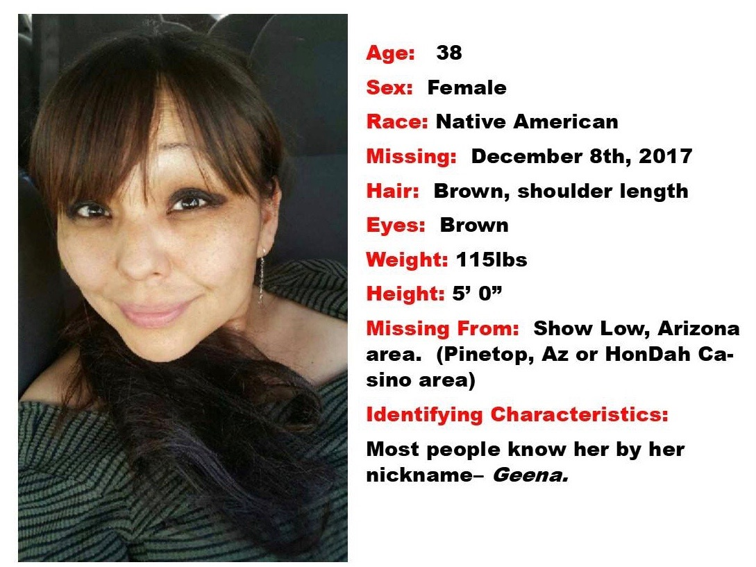 White Mountain Apache Tribe seeks help in finding missing woman