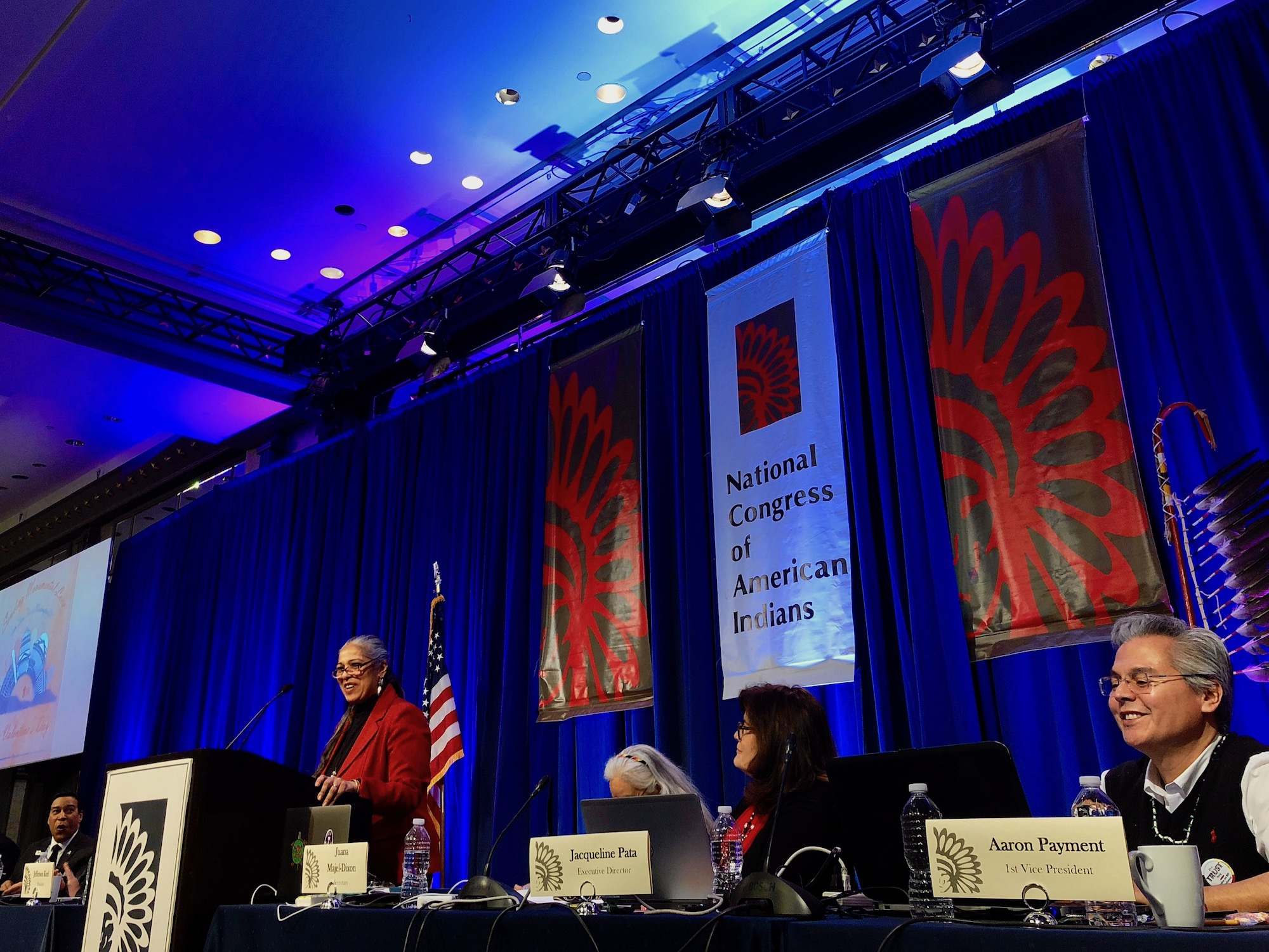 National Congress of American Indians wraps up big winter session