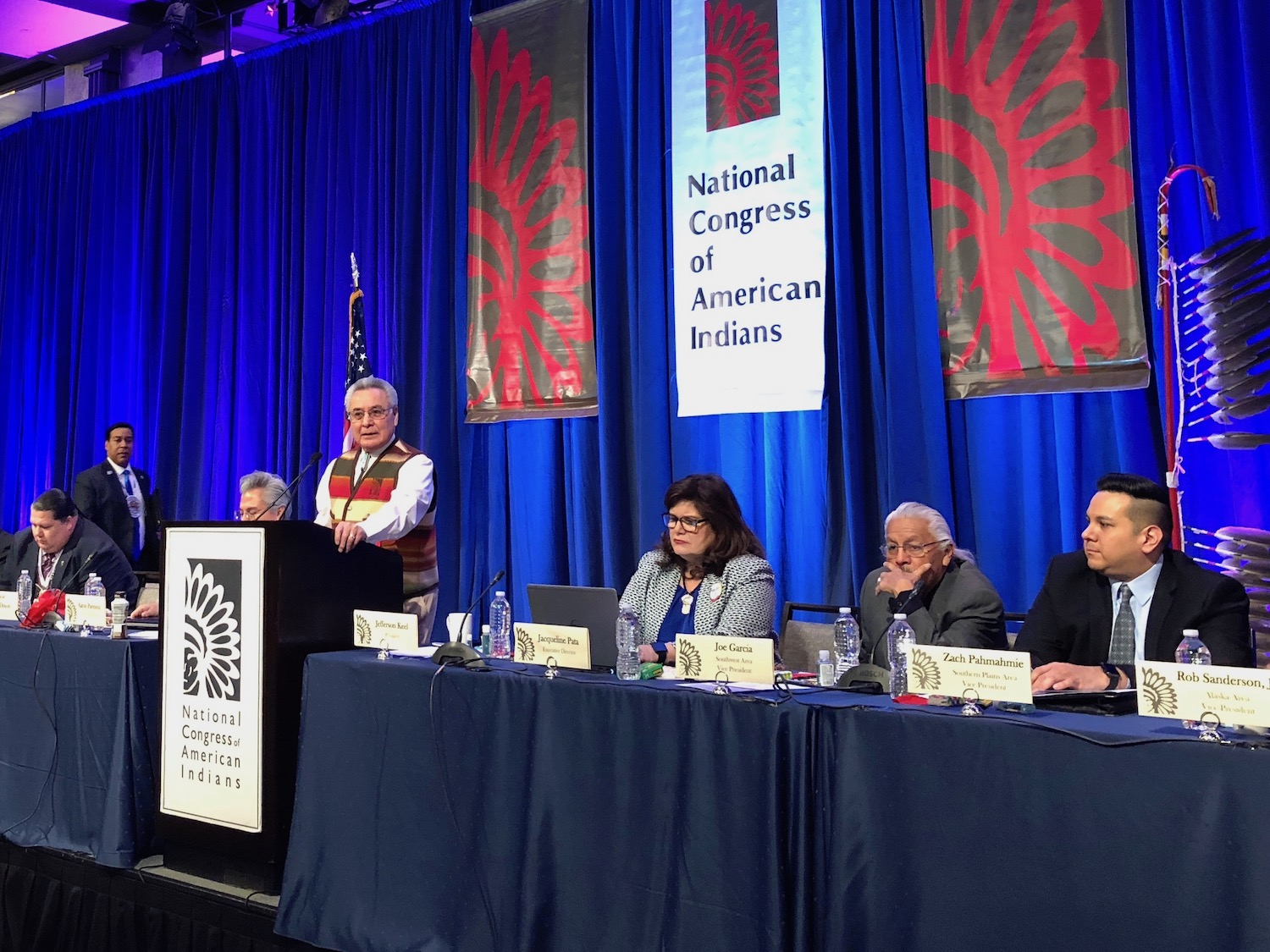 Leader of National Congress of American Indians slams 'fugitives' bill