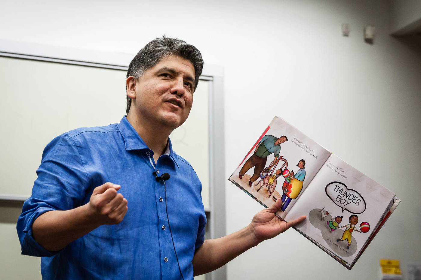 Sherman Alexie breaks silence after allegations of sexual harassment