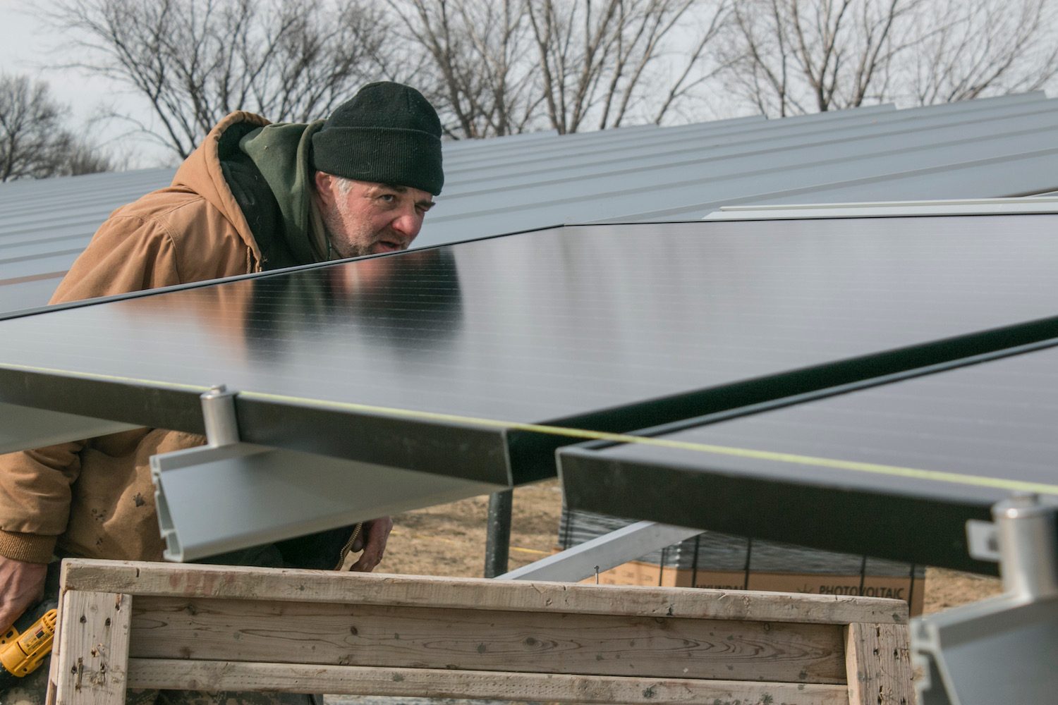 Winnebago Tribe sees power from solar energy as boost to sovereignty