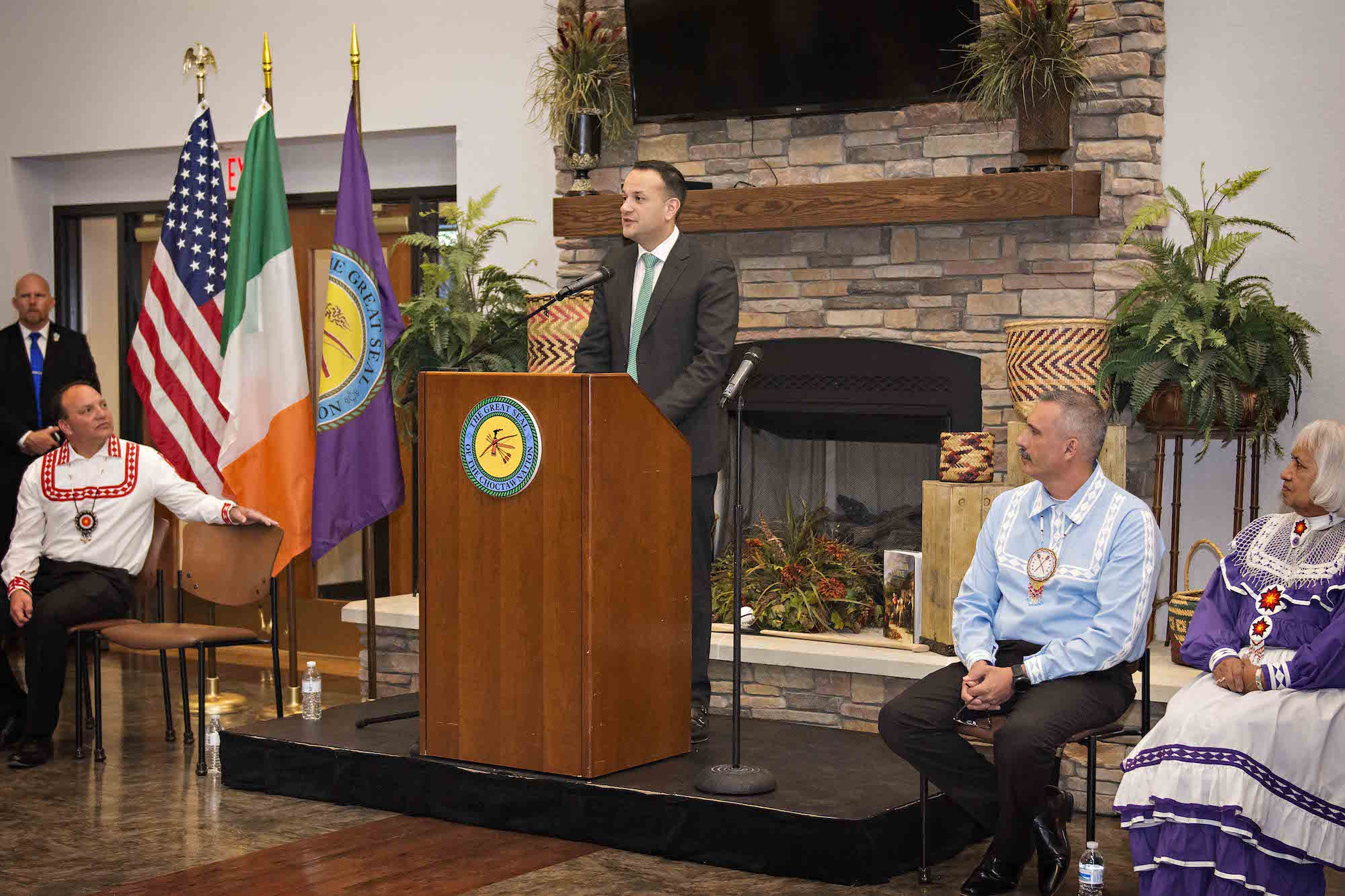 Choctaw Nation welcomes Irish prime minister for historic visit