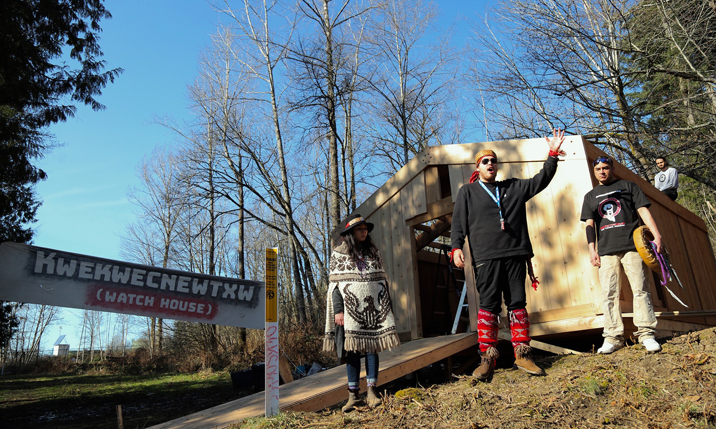YES! Magazine: Elders and warriors keep close watch on pipeline