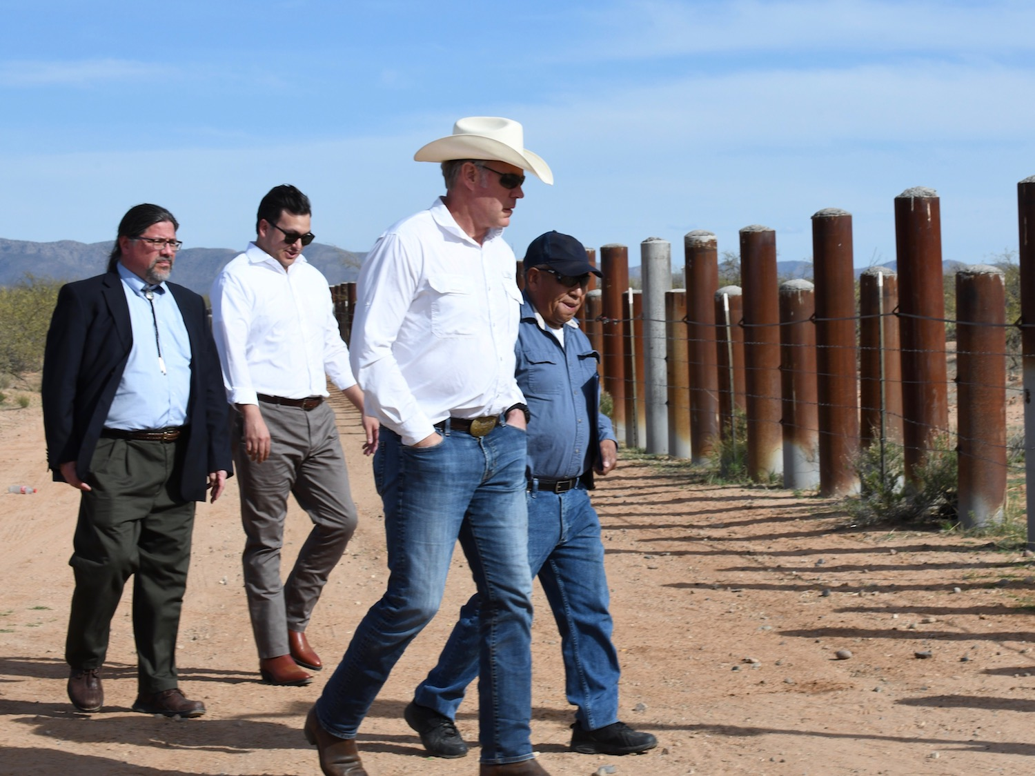 Tohono O'odham Nation reaffirms opposition to wall along border