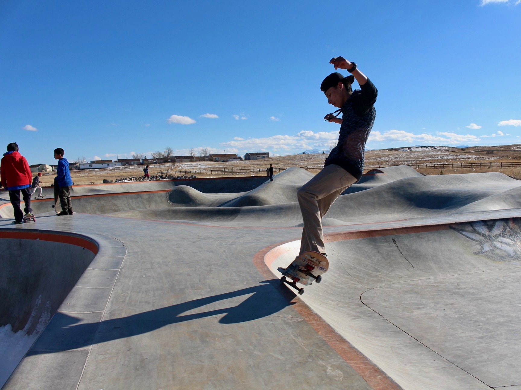 Chippewa Cree Tribe breaks ground on youth-driven skate park on reservation