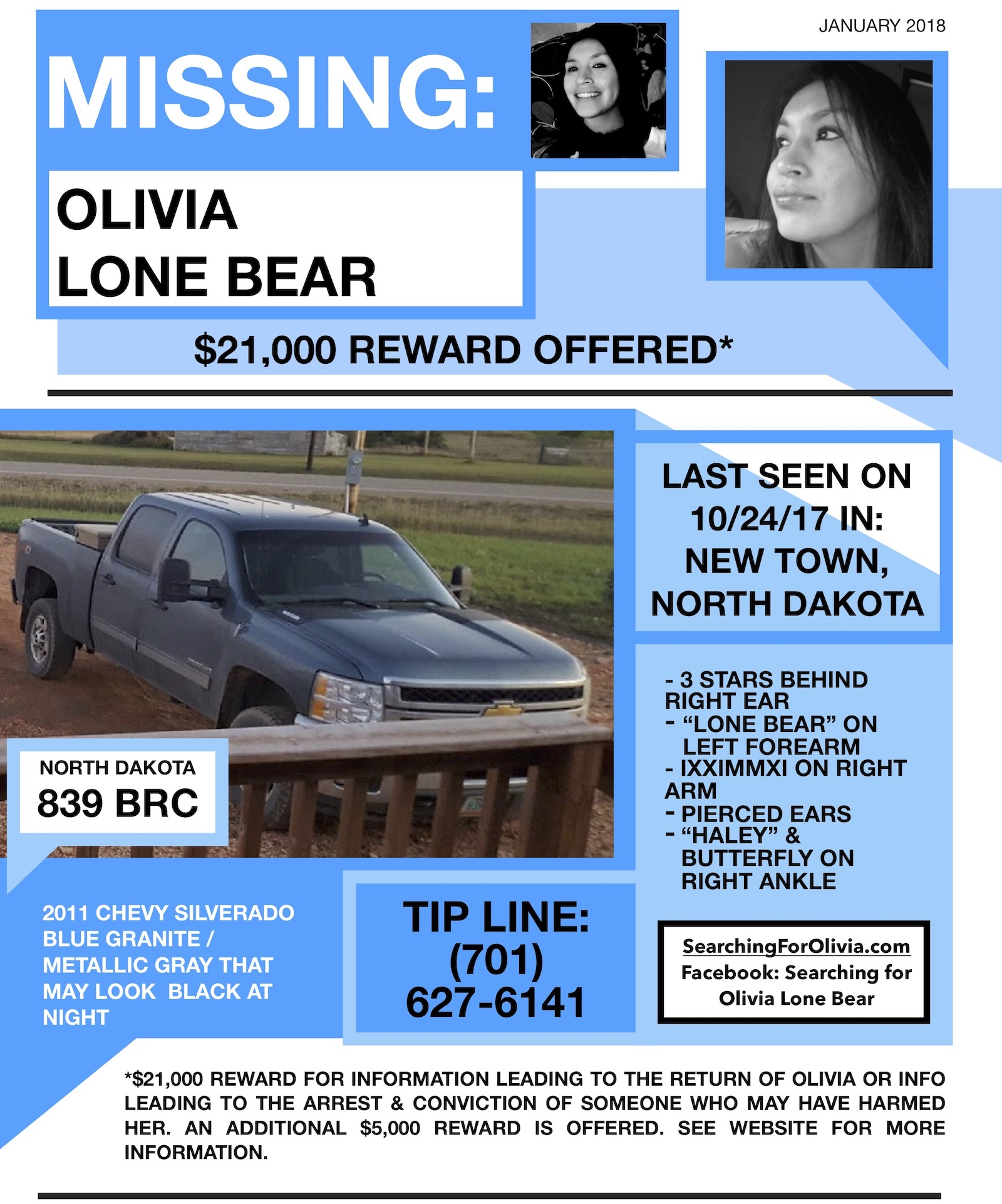 Jacqueline Keeler: The Search Continues For Olivia Lone