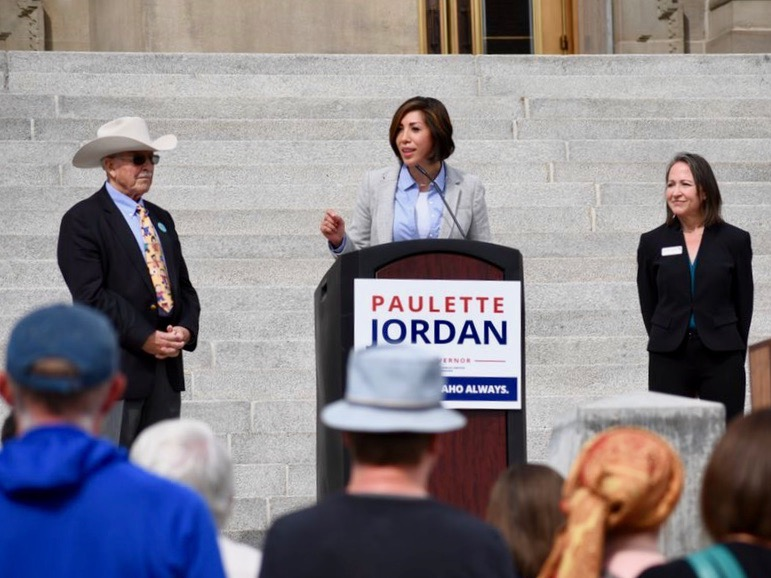 Mark Trahant: Paulette Jordan makes history again with run for governor