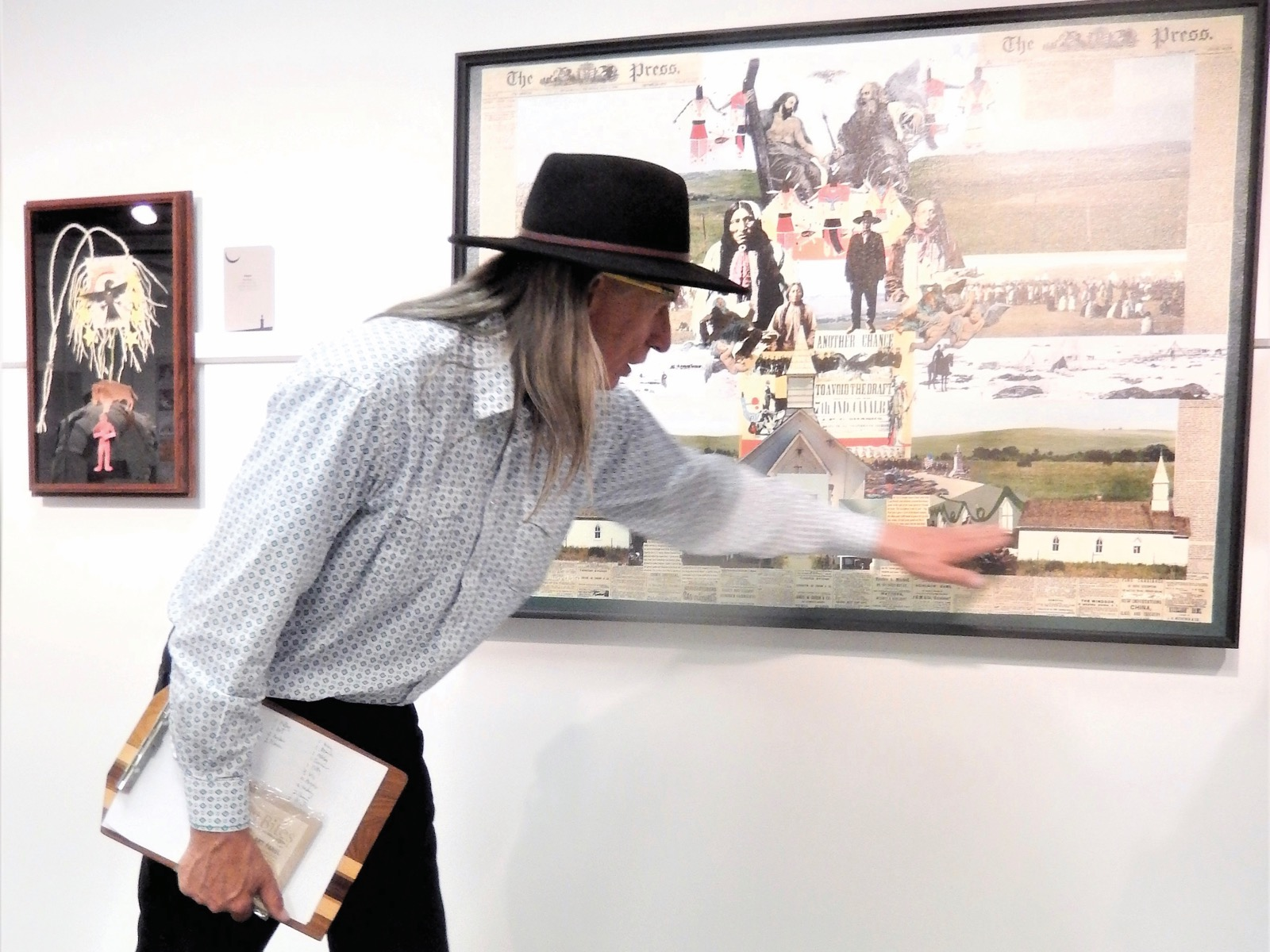 'It was a travesty': Exhibit portrays Wounded Knee Massacre
