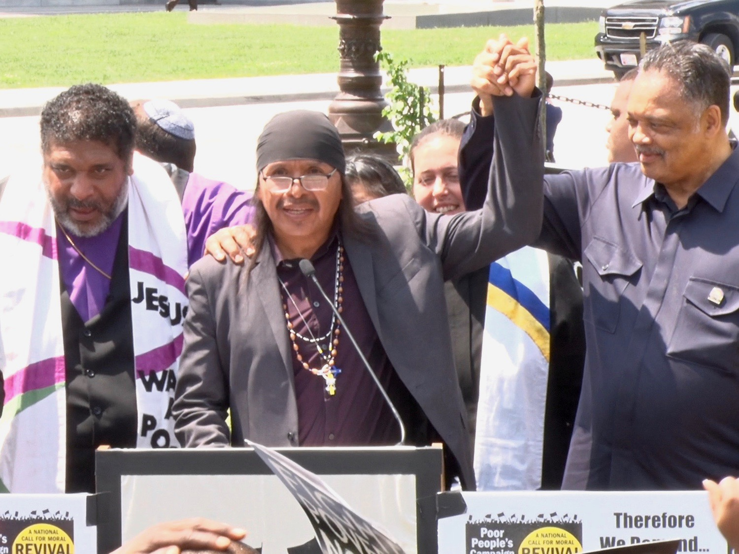 Cronkite News: San Carlos Apache activist joins rally at U.S. Capitol