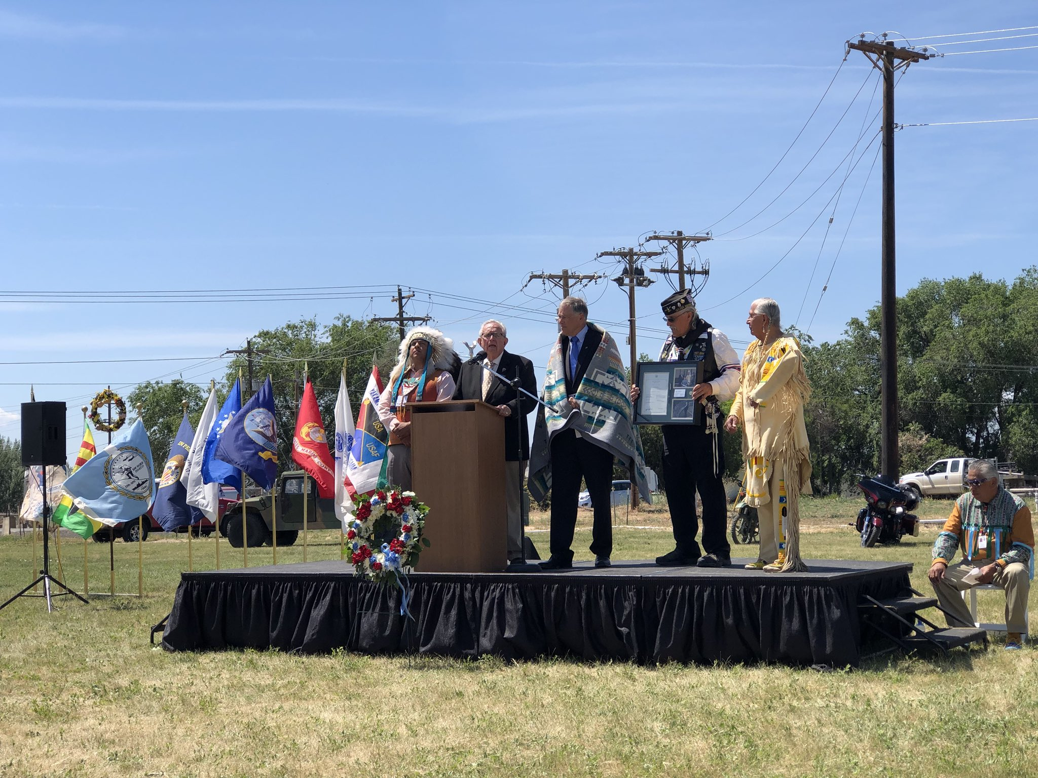 Yakama Nation dedicates new center to help veterans with services