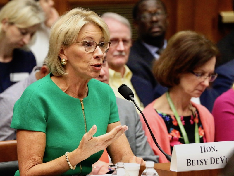 Cronkite News: Trump's Education secretary defends remarks about undocumented students