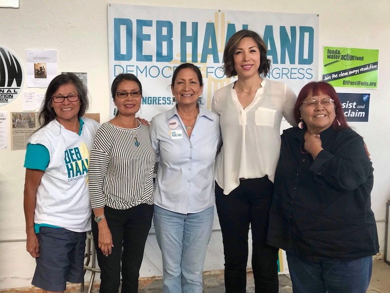 'A victory for Indian Country': Deb Haaland secures primary win in historic run for Congress