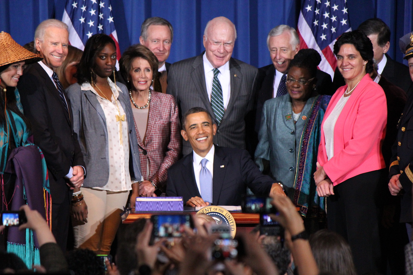 Obama cites 'inherent' right of tribes at VAWA signing ceremony