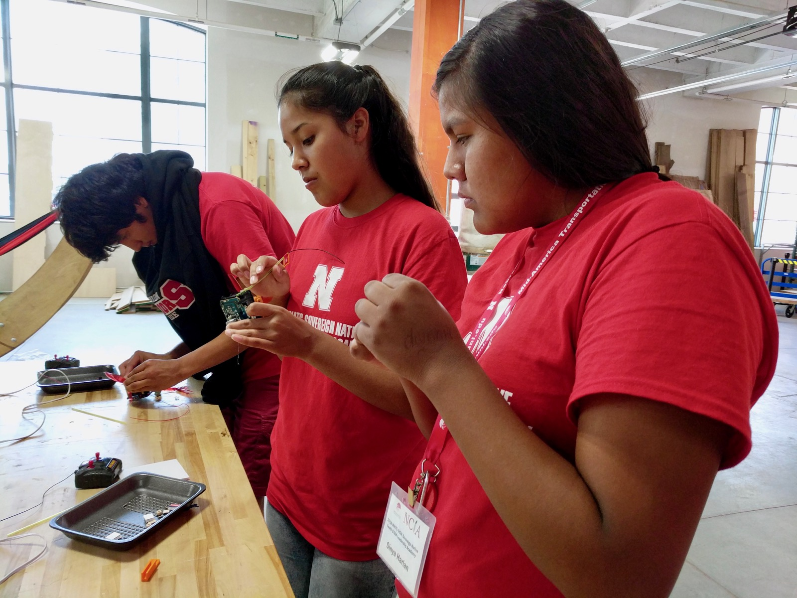 Native students learn about science in 'Sovereign' summer camp