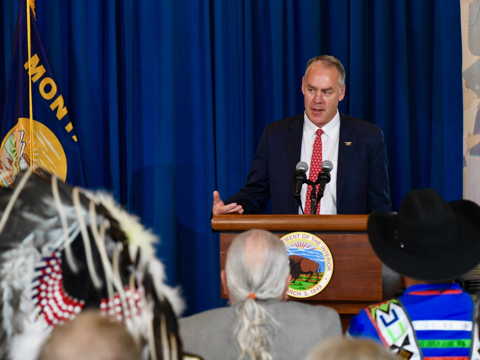Secretary Zinke blames Democrats for delaying Indian Affairs nominee