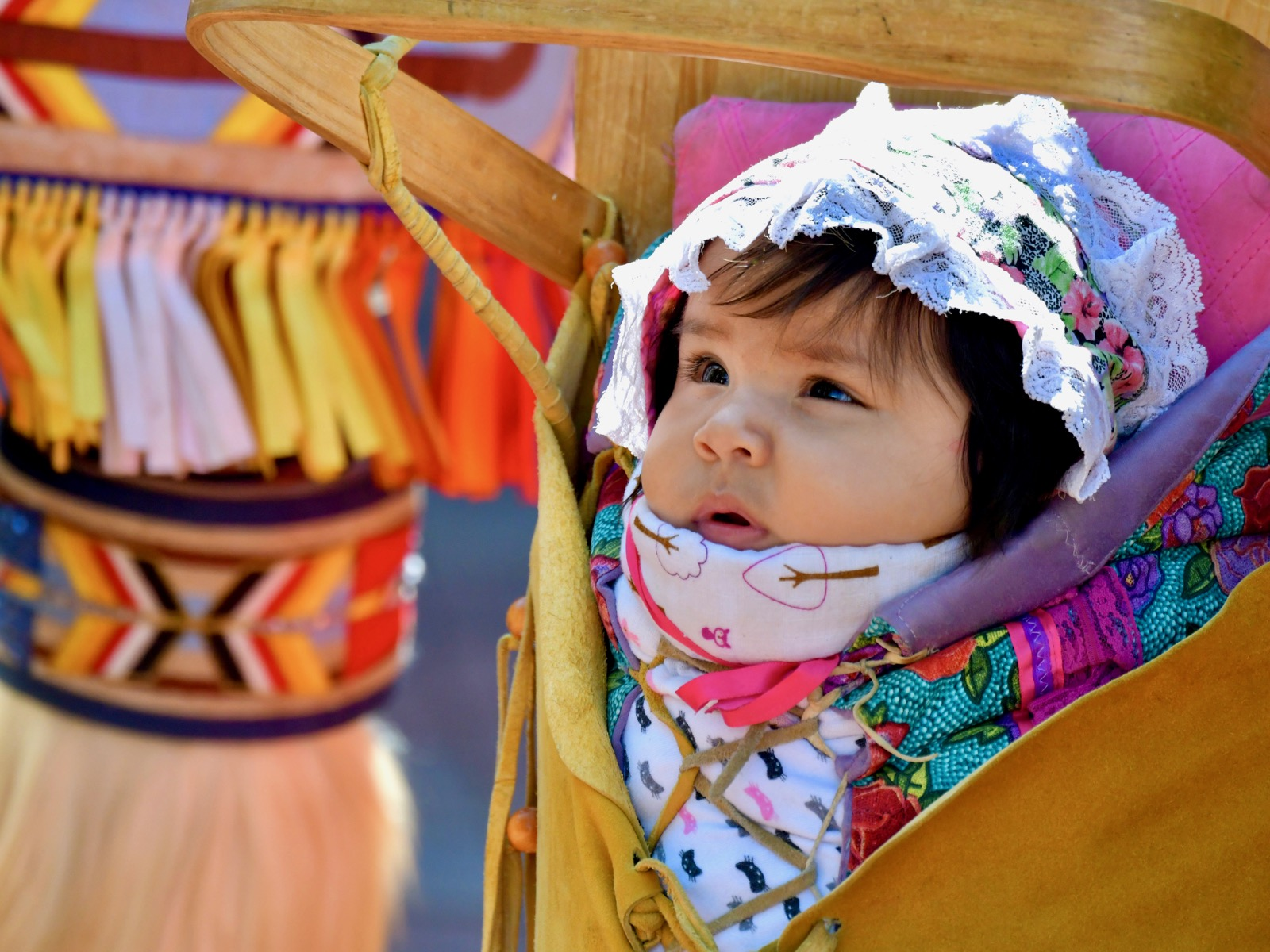 'Love is in there too': Reviving tribal traditions for newborns