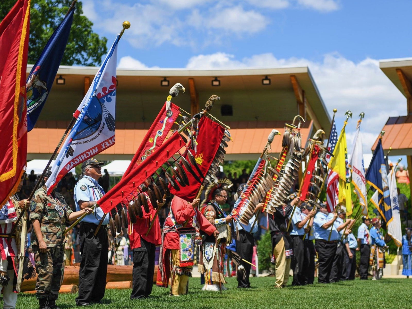 Gun Lake Tribe hosts third annual Sweet Grass Moon Pow Wow