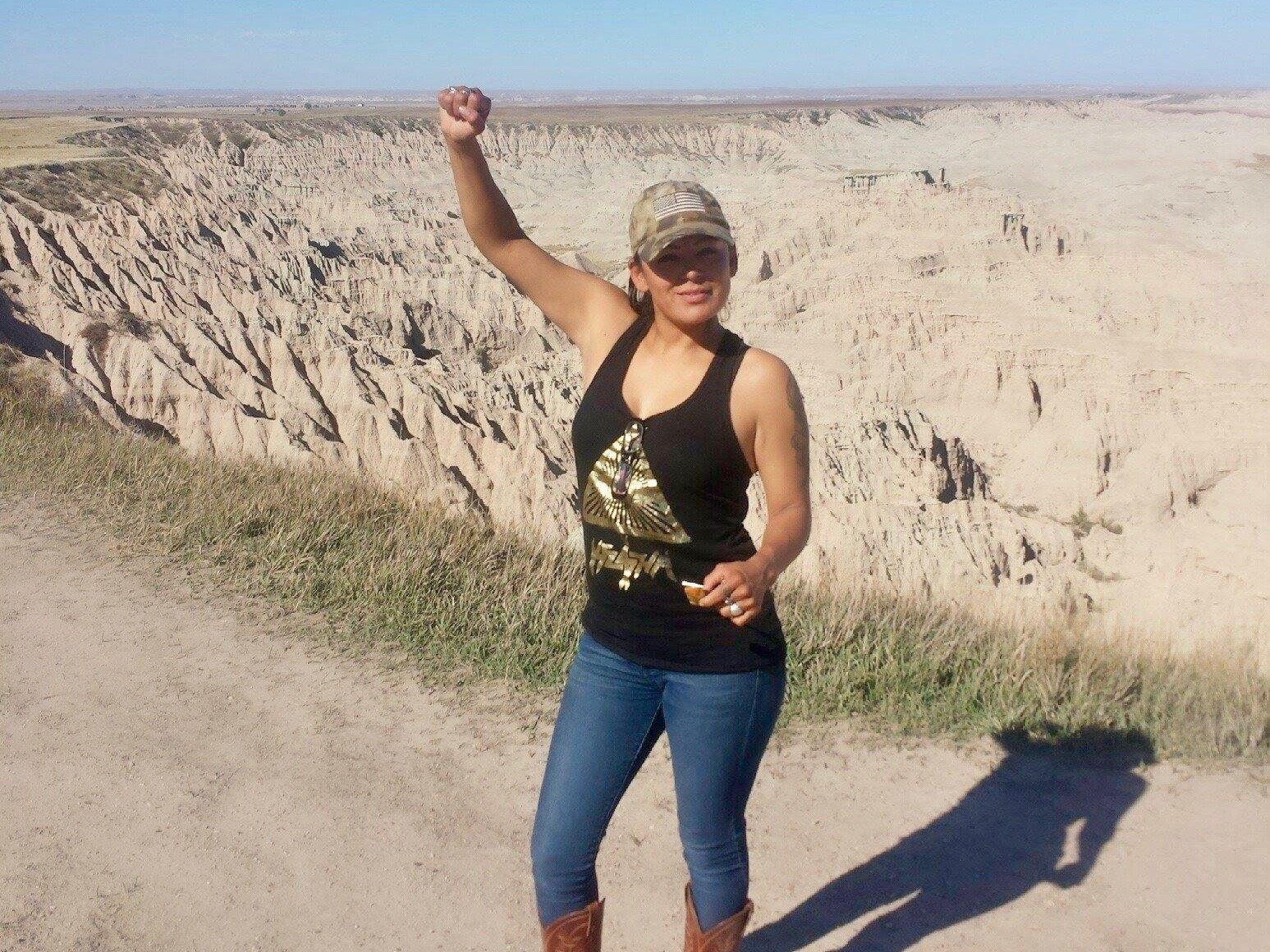 A return to frontier justice? Red Fawn Fallis locked up for #NoDAPL incident