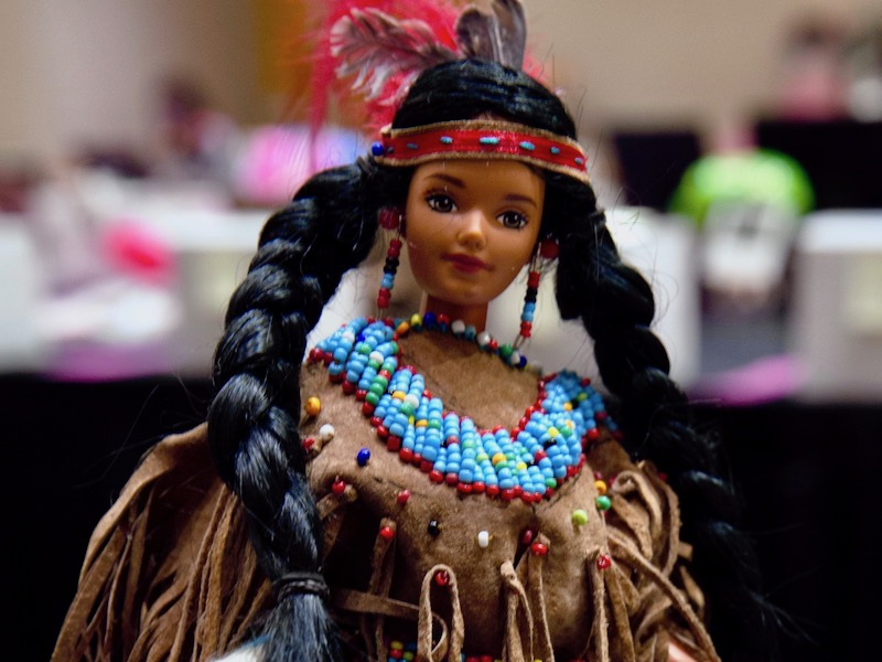 'Native fashion in Barbie': Doll takes on new looks and cultures