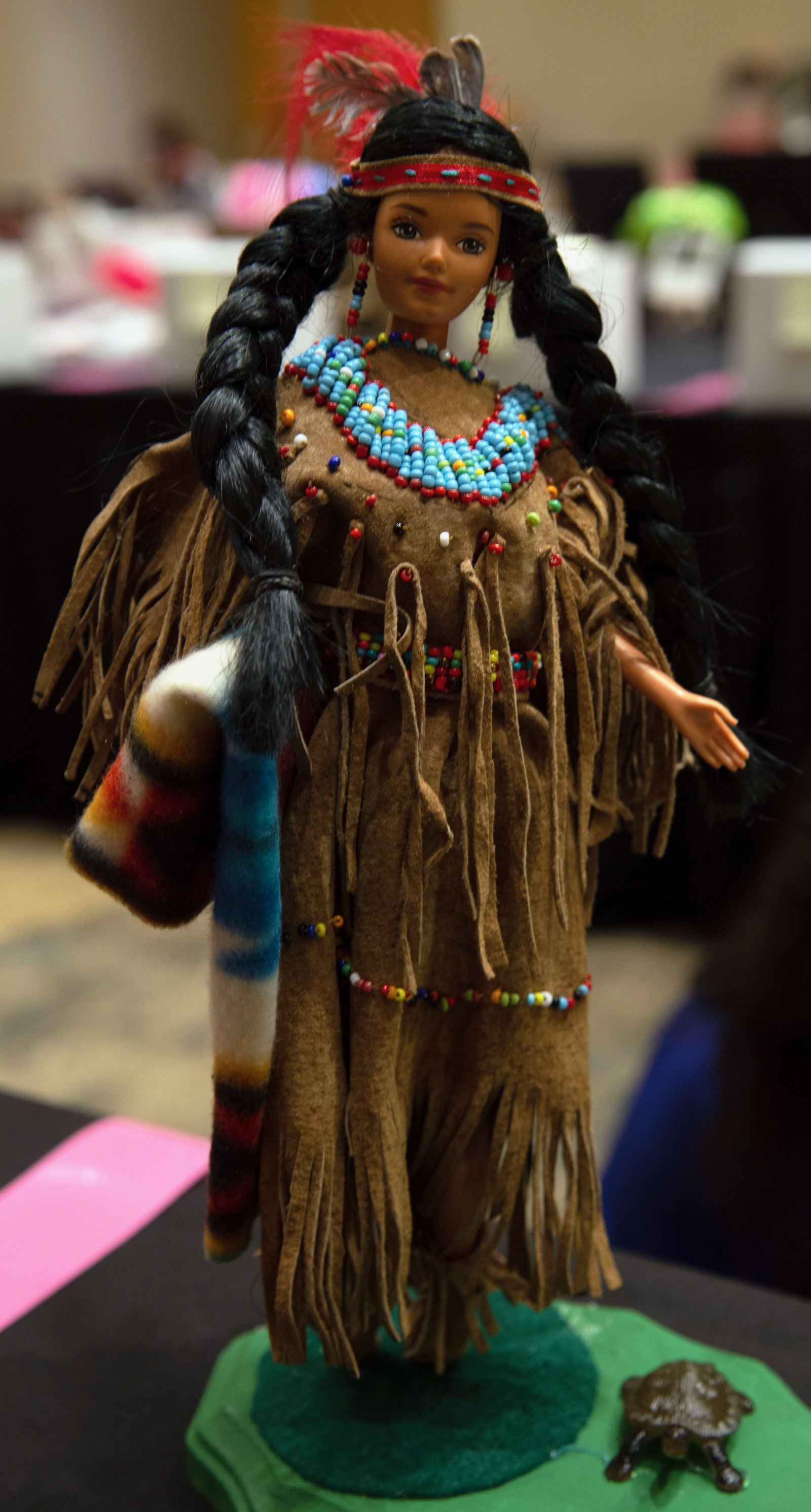 Native Fashion In Barbie Doll Takes On New Looks And