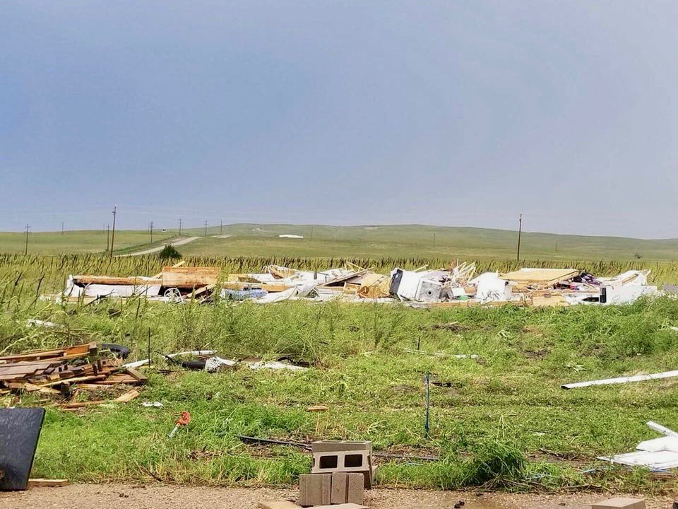 Summer storms bring extensive damage to Pine Ridge Reservation