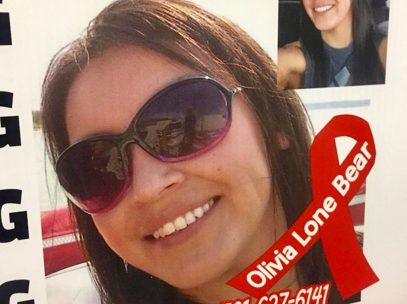 'Nine months of looking': Olivia Lone Bear's body recovered on reservation