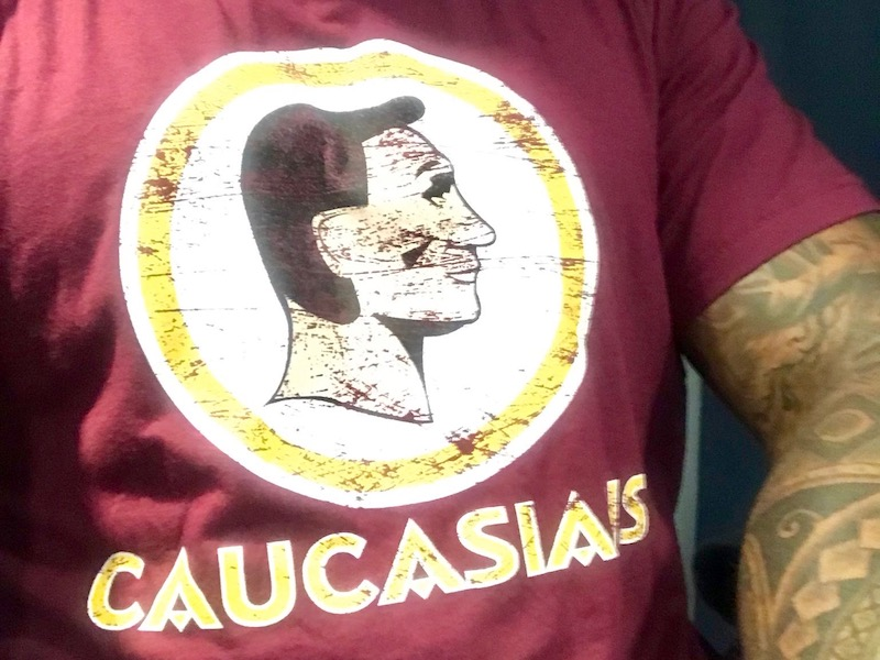 Offensive? Parody 'Caucasians' t-shirt draws strong reactions
