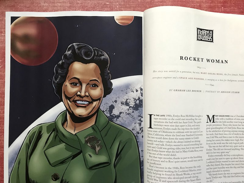 Cherokee scientist Mary Ross finally gains widespread attention