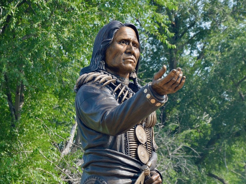 'It honors all of our people': Ponca Tribe dedicates statue of Chief Standing Bear