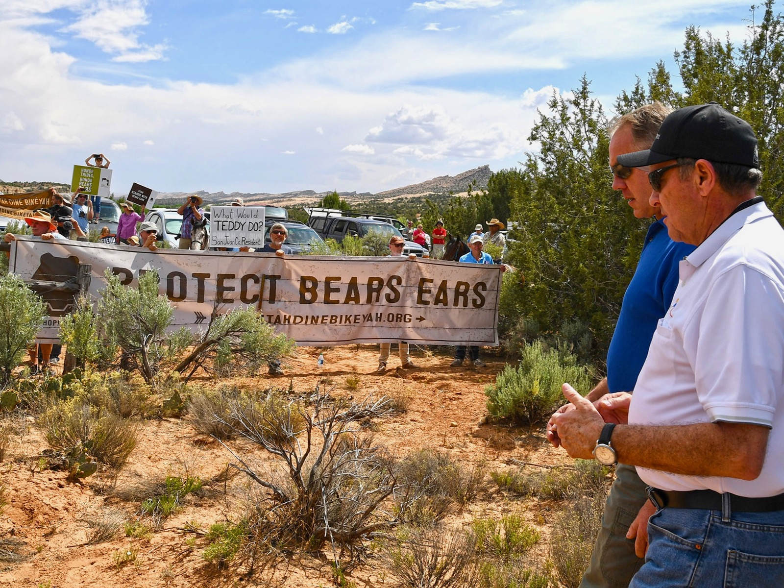 Trump administration restricts tribal involvement at Bears Ears