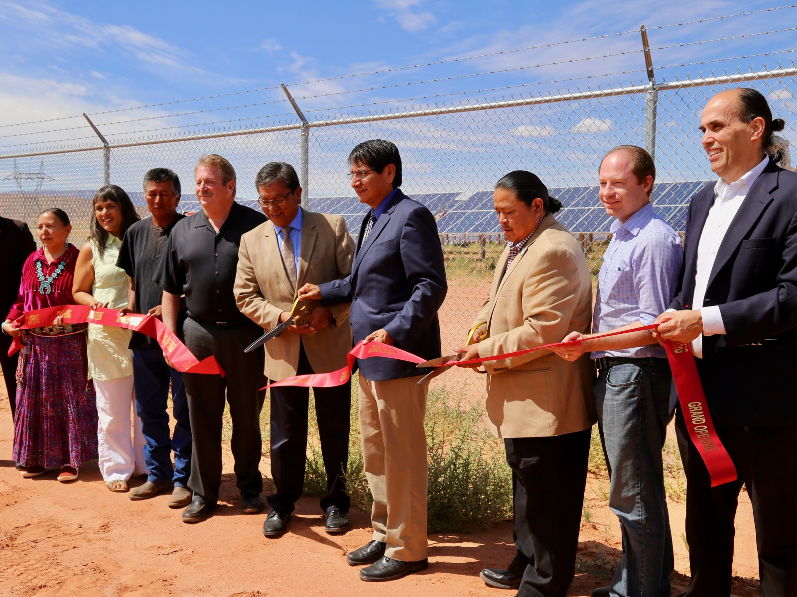 Navajo Nation makes history with solar powered plant