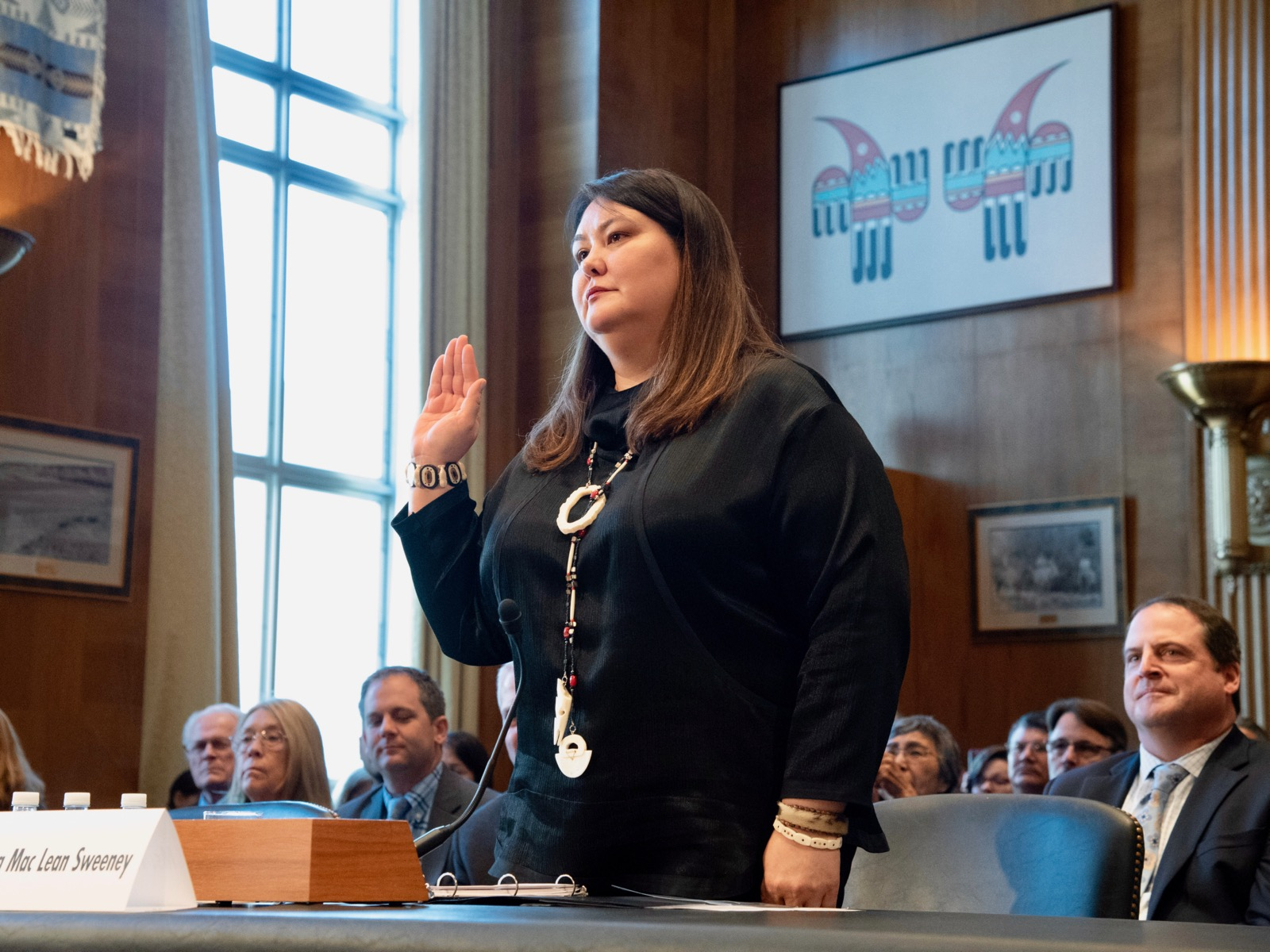 Tara Sweeney quietly takes helm at Bureau of Indian Affairs