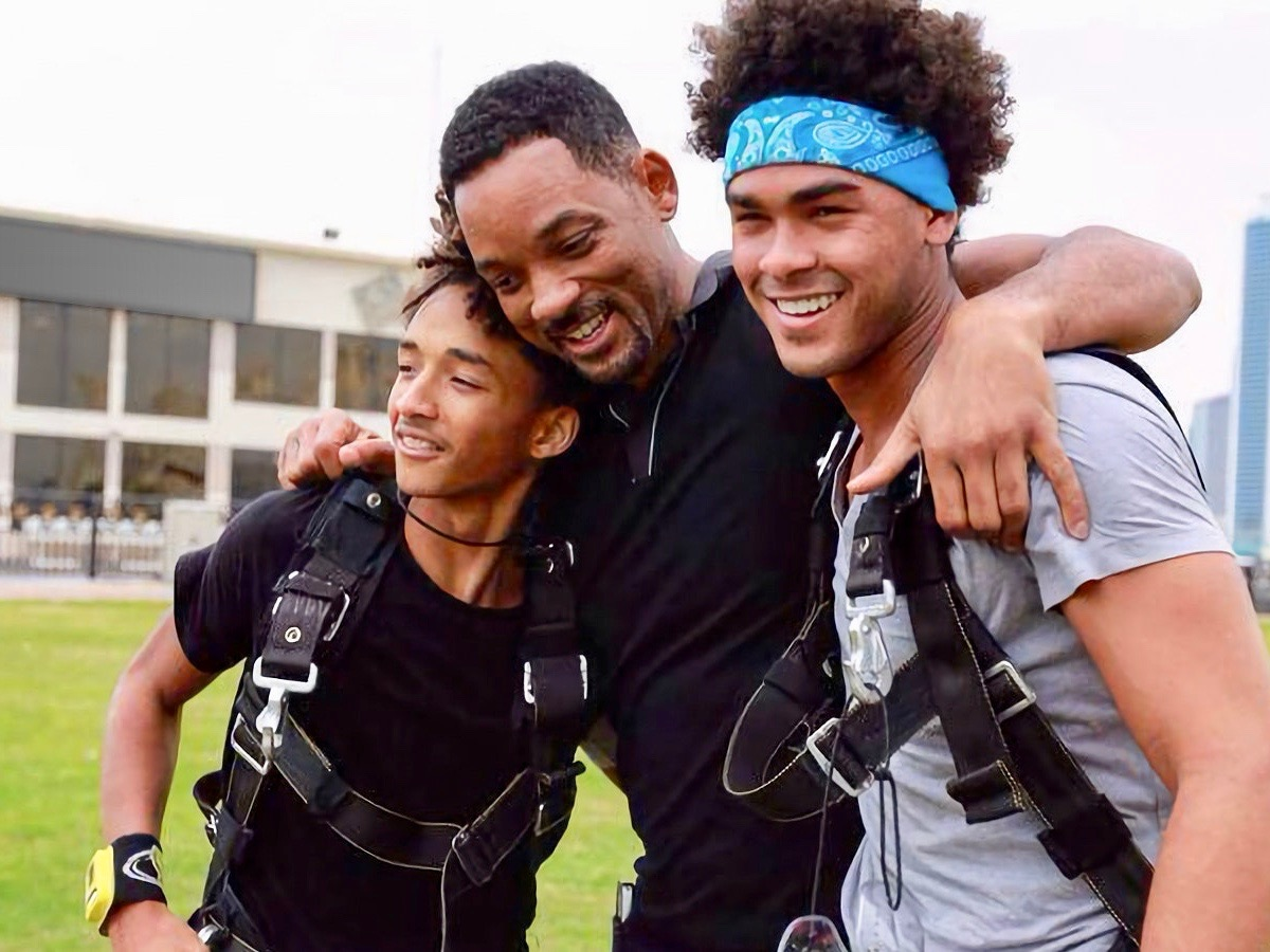 Will Smith celebrates birthday with bungee jump on Navajo Nation