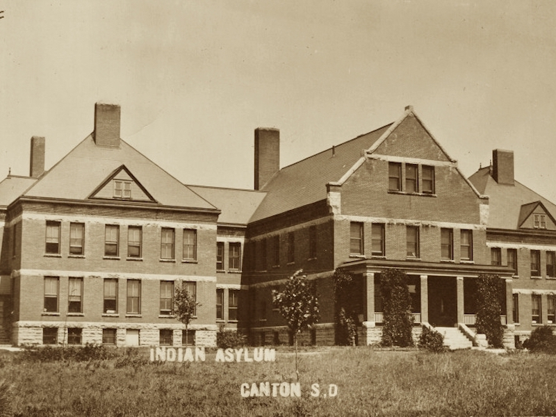 The nation's only insane asylum for Indians was in South Dakota