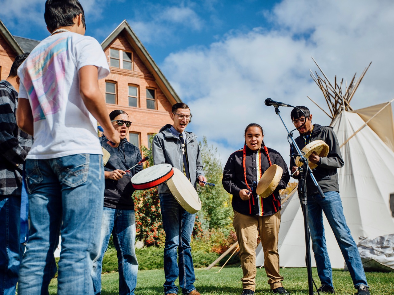 Montana State University lands grant for American Indian Hall