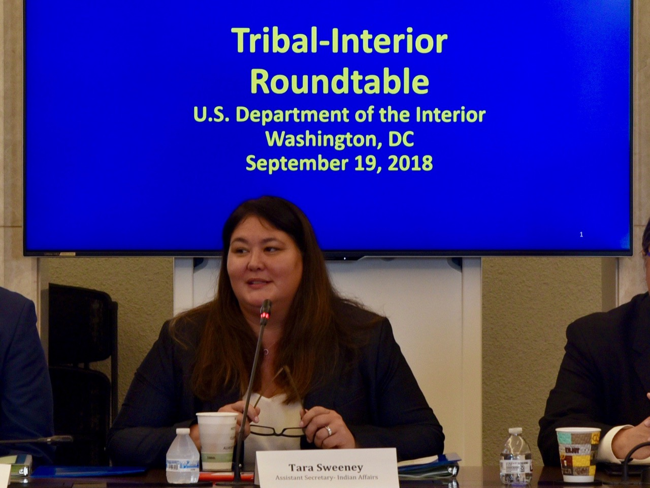 New face of Bureau of Indian Affairs returns to Alaska after making history