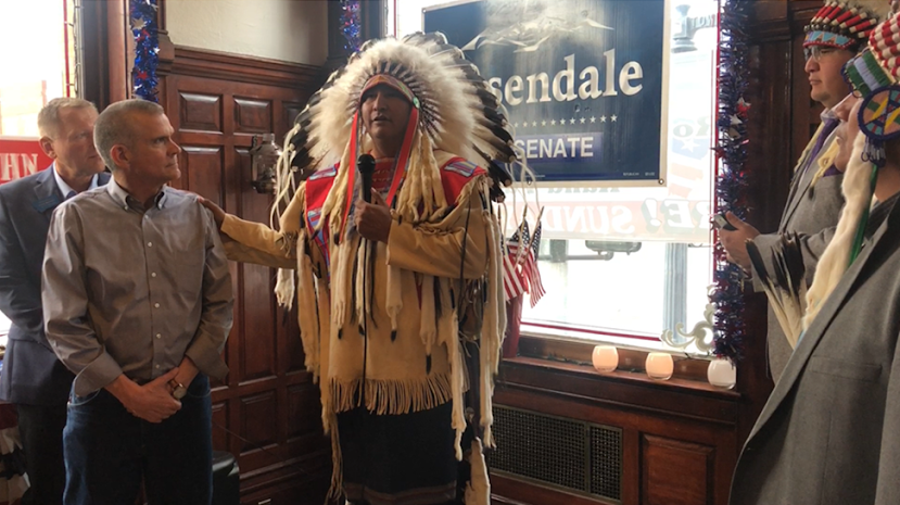 Crow citizens upset after chairman aligns tribe with Republicans