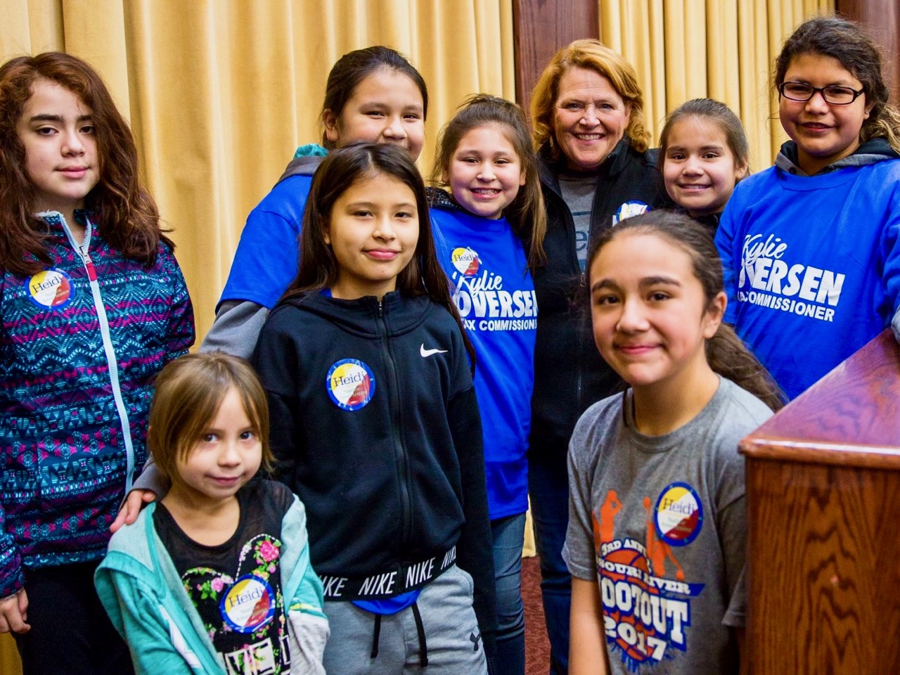 Native women thank Heidi Heitkamp on eve of critical election