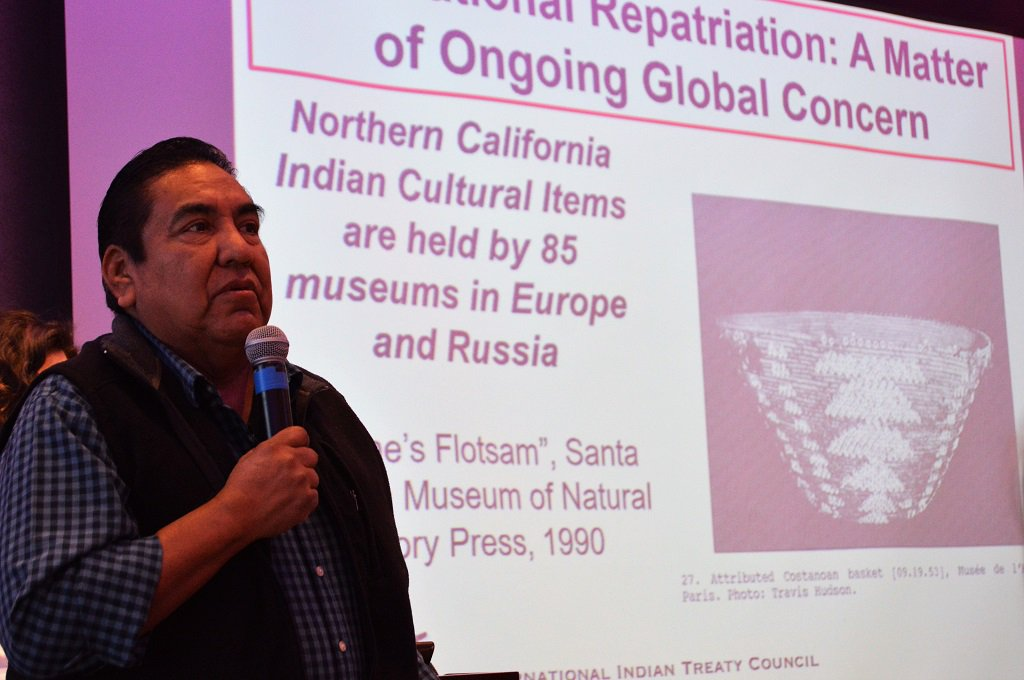 Tribes and organizations seek respect for cultural and sacred items